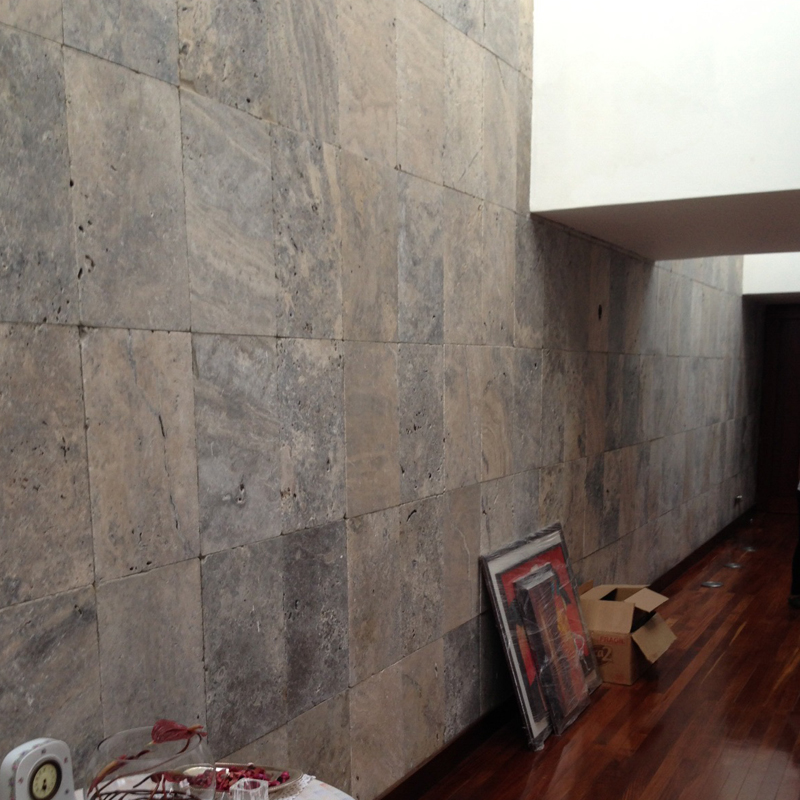 Silver gray Travertine TYJT108