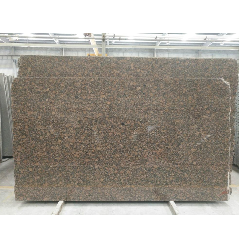 Imported finland natural baltic brown granite slab