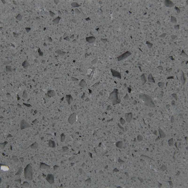 Grey Mirror Fleck Quartz
