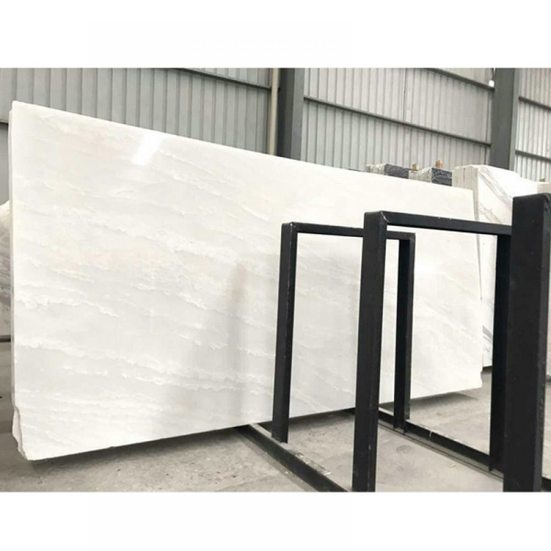 Imperial white Marble Slabs