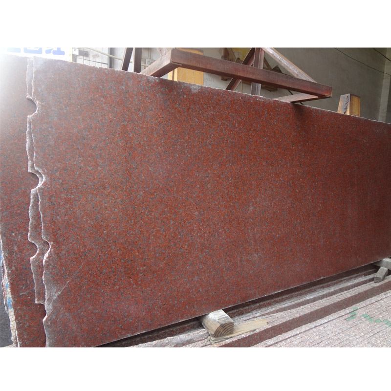 Indian Ruby Red Granite Price Polished Slab