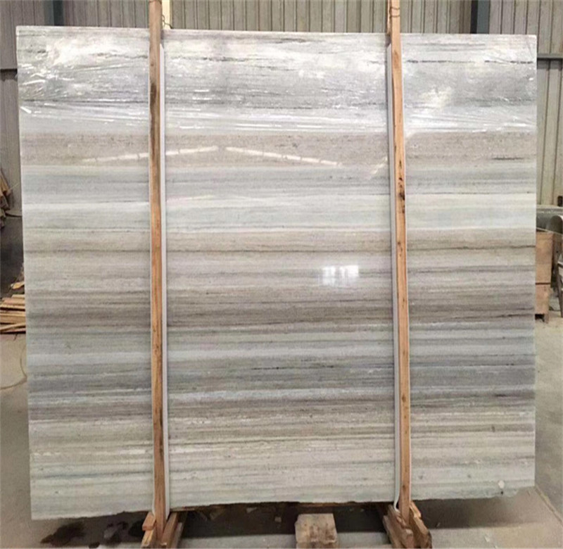 Crystal wooden marble natural stones slabs