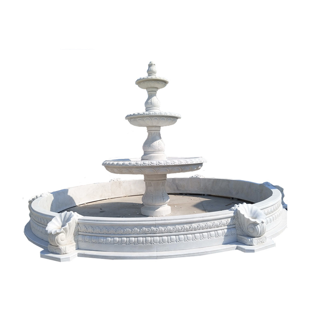 Tier Marble Fountain